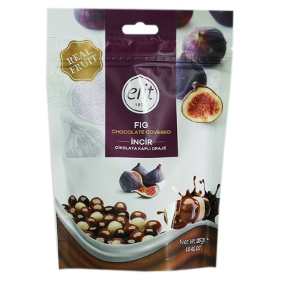 Elit Fig Chocolate Covered 125g