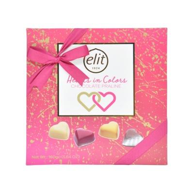 Elit Heart Assorted Chocolate Gift 160g