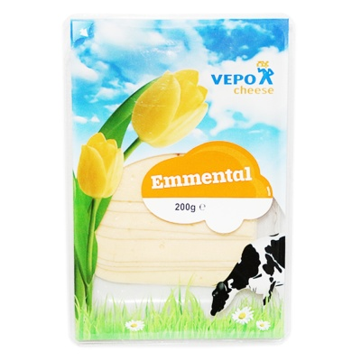 Dutch Emmental Silice Cheese 200g