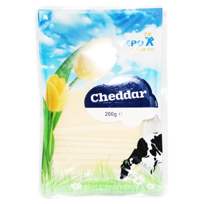 Dutch White Cheeda Silice Cheese 200g