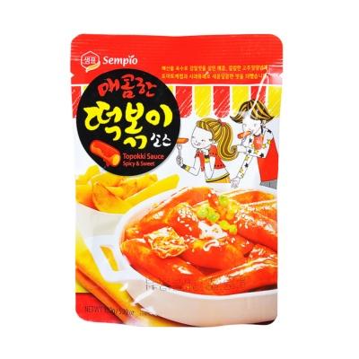 Sempio Rice Cake Sauce Spicy 150g