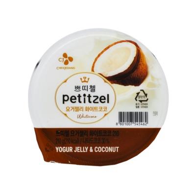 Cj Petitzel Yogur Coconut Jelly 210g