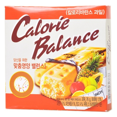 Calorie Balance Biscuits (Fruit) 76g