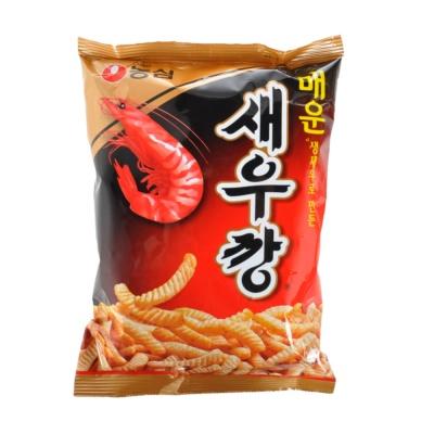 Nongshim Hot Prawn Snack 90g