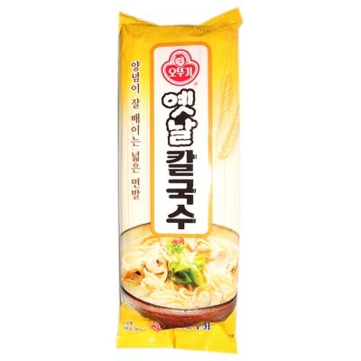 Ottogi Wheat Noodle Wide 500g