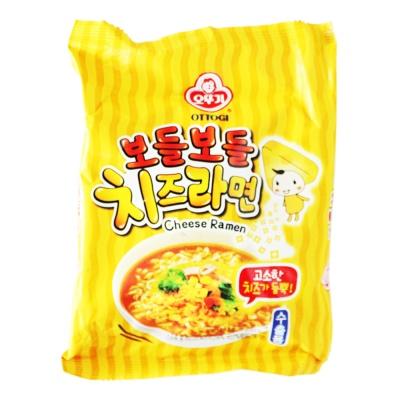 Ottogi Cheese Flavor Noodles 111g