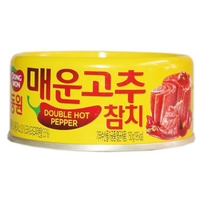 Dongwon Double Hot Pepper Tuna 150g