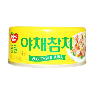DongWon Vegetable Tuna 150g