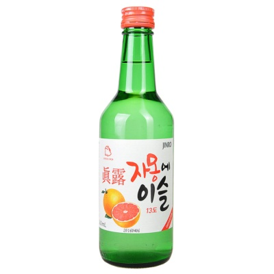 Jinro Soju Grapefruit Flavor 360ml