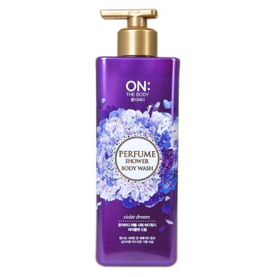The Body Ferfume Shower Body Wash(Violet Dream) 500g