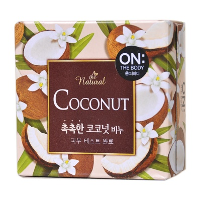 On The Body Coconut Nutritional Soap 90g