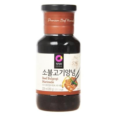 Chungjungone Korean Marinade(For Beef) 280g