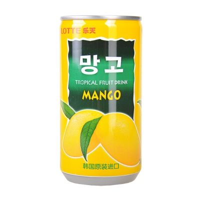 Lotte Mango Tropical Fruit Juice Drink 180ml