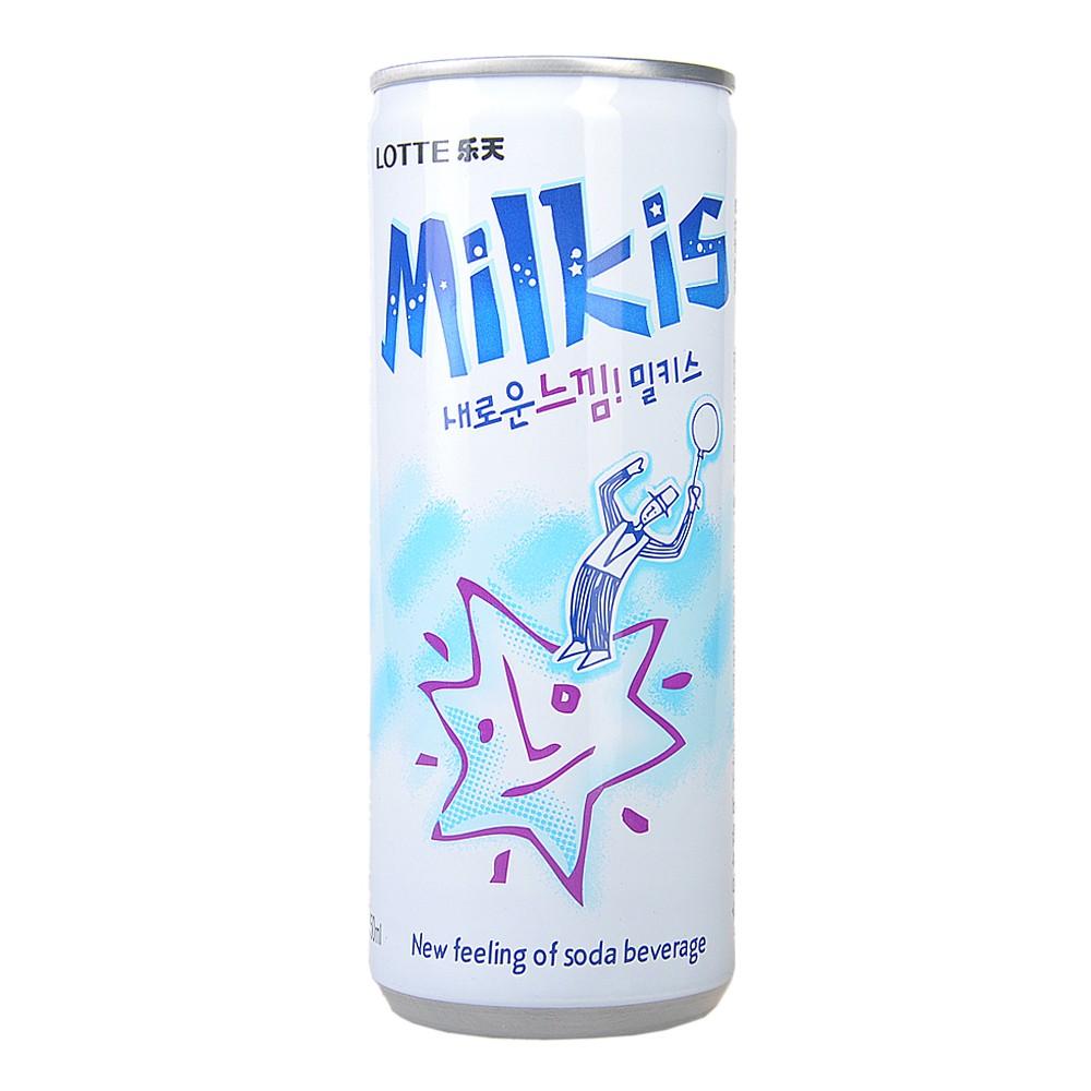 乐天牛奶碳酸饮料 250ml