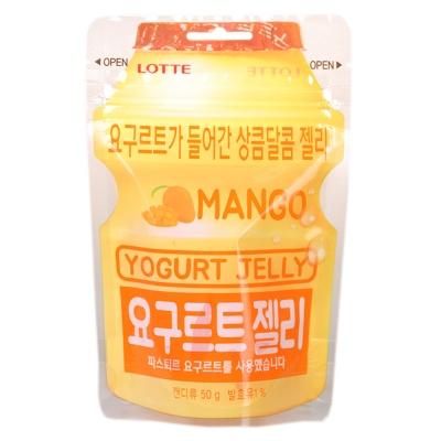 乐天芒果酸乳味软糖 50g