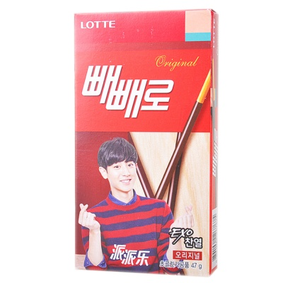 Lotte Chocolate Stick Biscuits 47g