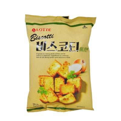 Lotte Onion Taste Biscotti 70g