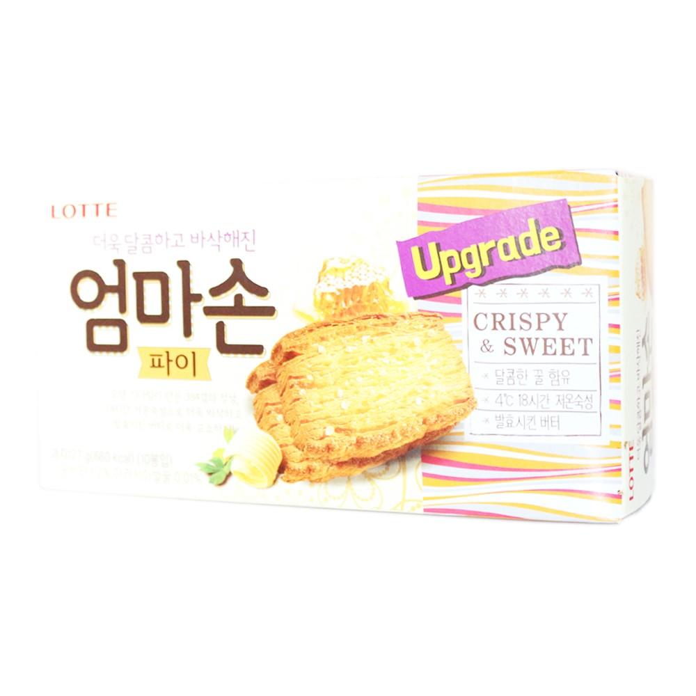 Lotte Crispy & Sweet Biscuits 127g
