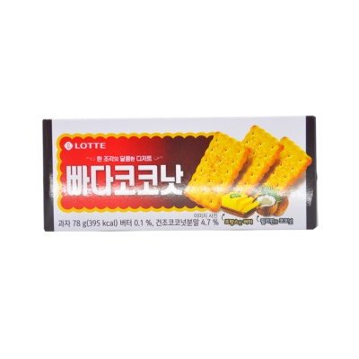 Lotte Butter & Coconut Biscuits 78g