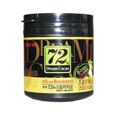 Lotte 72% Dream Cacao Chocolate 86g