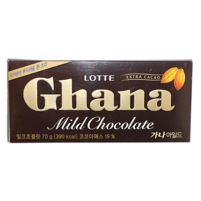 乐天加纳巧克力 70g
