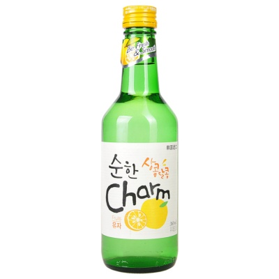 Charm Compound Soju Grapefruit Flavor 360ml
