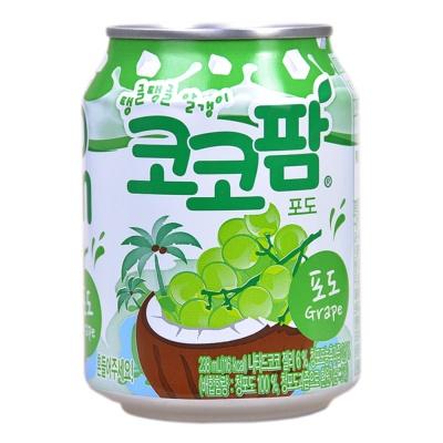 Haitai Coco palm Grape Juice Drink 238ml