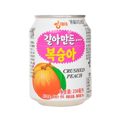HaiTai Crushed Peach Juice 238ml