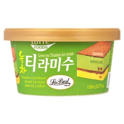 Lotte Tiramisu Ice Cream (Matcha) 97.1g