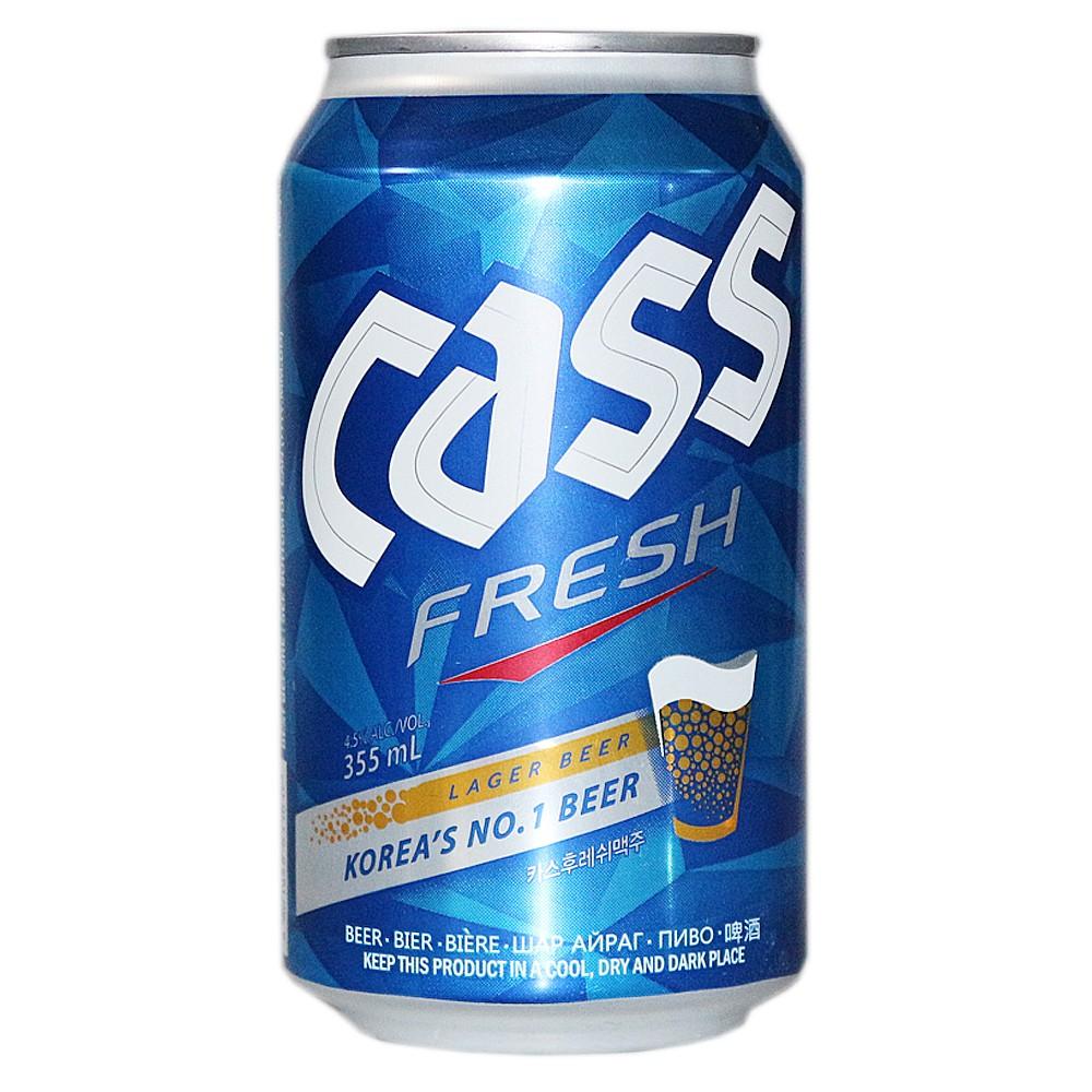 Cass Fresh Beer 355ml