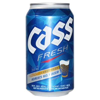 Cass Fresh Beer 355ml