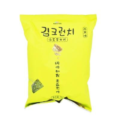 Jaeundo Corn Crisps (Mustard Flavor) 72g