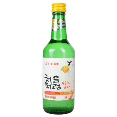 Lotte Fruity Soju Grapefruit Flavour 360ml