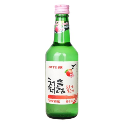 Lotte Fruity Soju Peach Flavour 360ml