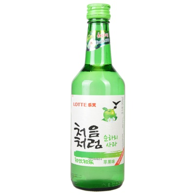 Chum-Churum Soju Apple Flavor 360ml