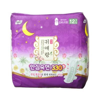 贵爱朗夜用卫生巾 33cm 12p