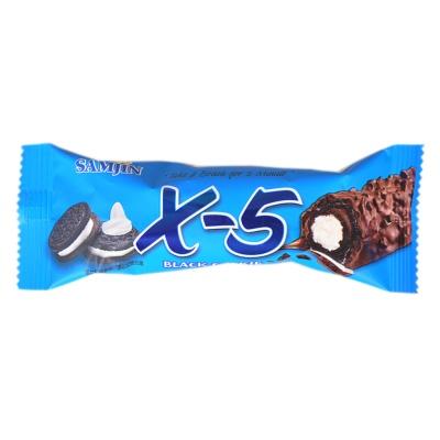 黑X-5饼干夹心代可可脂巧克力制品 36g