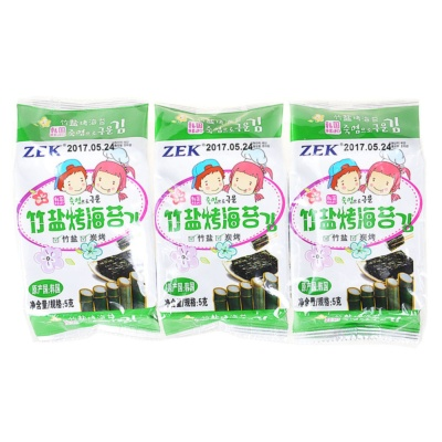 ZEK Bamboo Salt Roasted Seaweed 15g