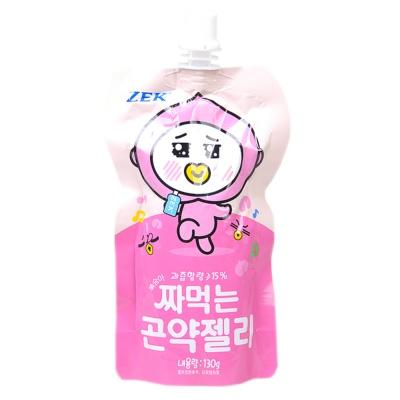 ZEK蒟蒻白桃汁可吸果冻 130g
