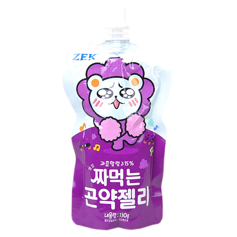 ZEK Grape Jelly Drink 130g