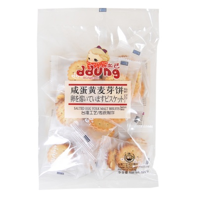 Ddung Salted Egg Yolk Malt Biscuit 106g