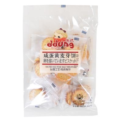 冬己麦芽饼夹心饼干咸蛋黄味 106g