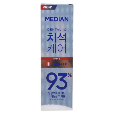 Median 93% Care Toothpaste(white)122g