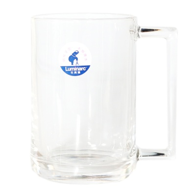 能量钢化玻璃热饮把杯 450ml