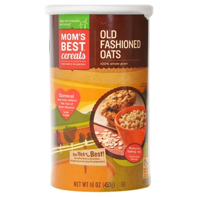 Mom's Best Whole Grain Old Fashioned Oats 453g