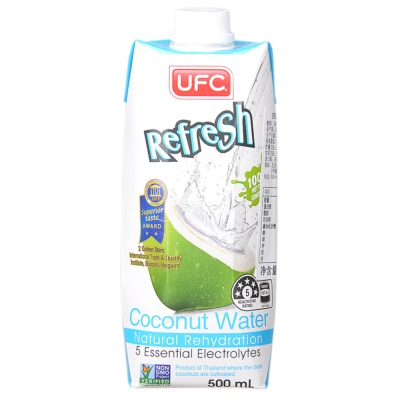 UFC 100% Natural Coconut Water 500ml