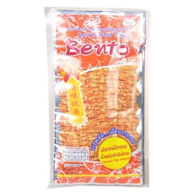 Bento Namprik Thai Original Squid Seafood Snack 25g