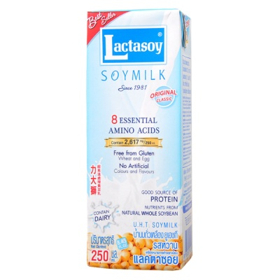 Lactasoy Original Classic Soymilk 250ml