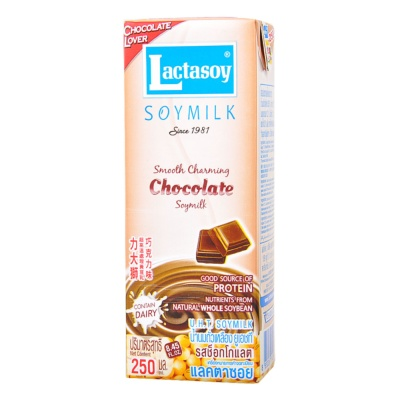 Lactasoy Chocolate Soymilk 250ml