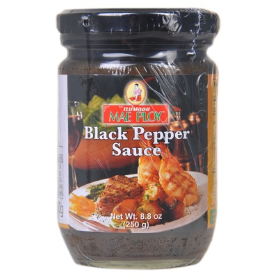 Mae Ploy Black Pepper Sauce 250g